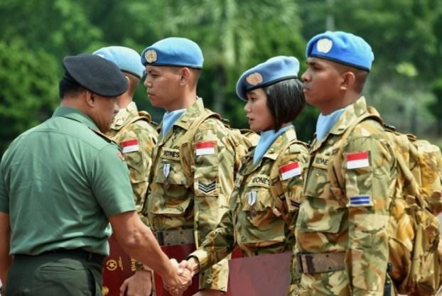 UNAMID Terkesan dengan Peforma Pasukan TNI