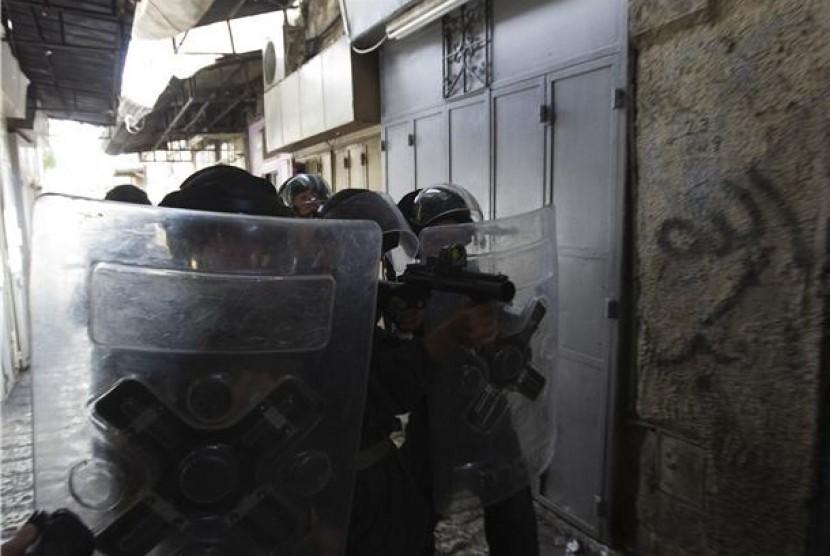 Pasukan keamanan Israel.
