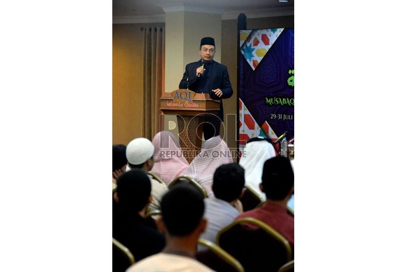 Pimpinan AQL Islamic Center ustadz Bachtiar Nasir.