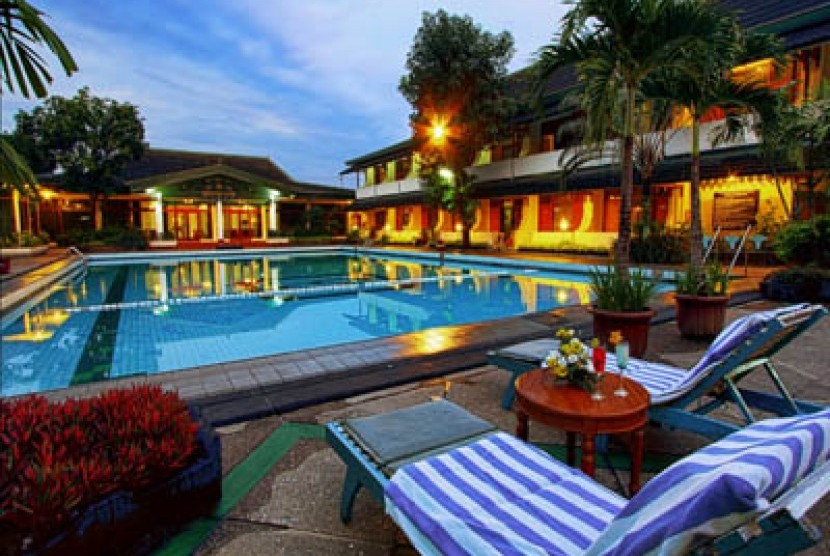 Suasan Hotel Kusuma Sahid Prince, salah satu hotel di Kota Solo.