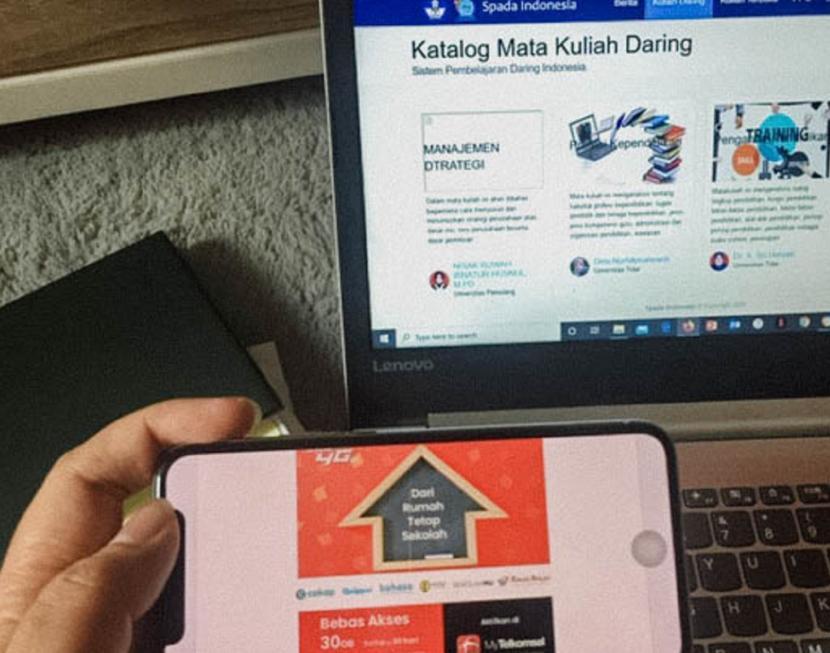 인니 Telkomsel, E-learning 무료 액세스 제공