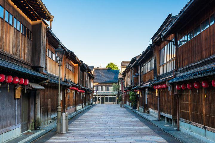 女子旅にもカップル旅にも!金沢の「ひがし茶屋」が素敵な場所だった
