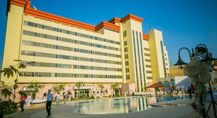 ウズベキスタンでも人気の宿です。