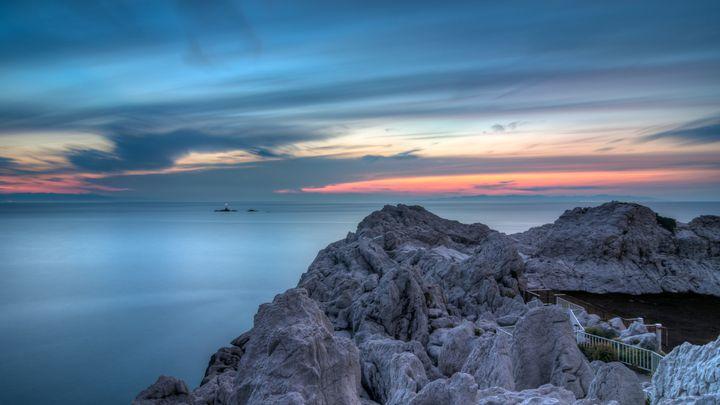 そこは思わず息をのむ白亜の世界。和歌山県にある「白崎海洋公園」に行きたい