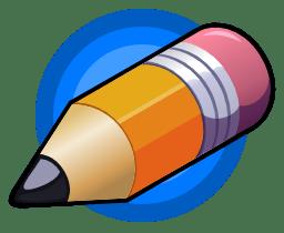Pensil 2D Logo
