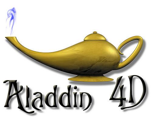 Logo Aladdin 4D