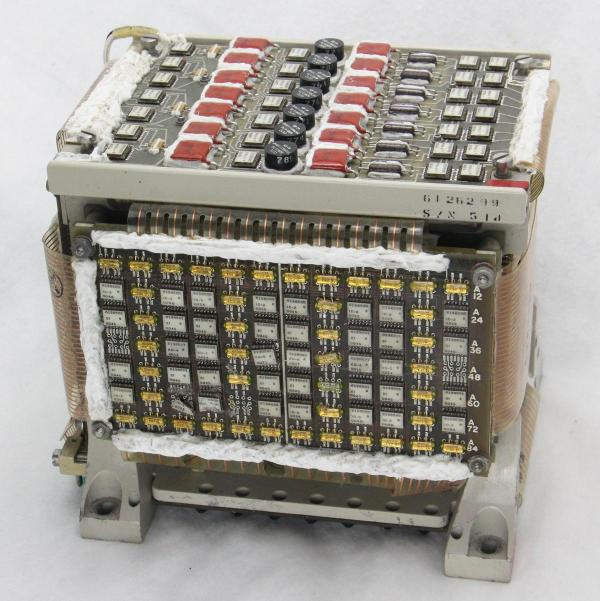 The Y driver board (front) drives the Y select lines in the core stack.