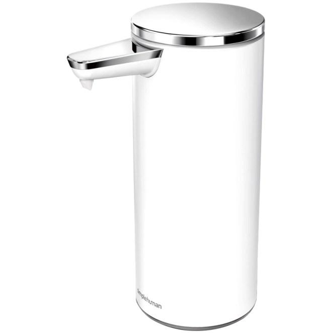 Simplehuman 266ml - white - Bezdotykový dávkovač mýdla