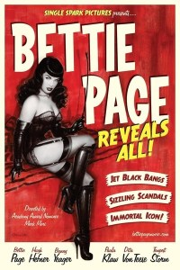 Fem filmer - Bettie Page Reveals All - Carina Behrens