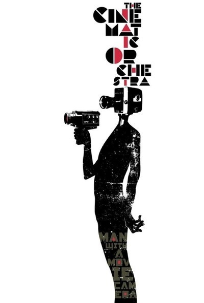 Man With a Movie Camera Movie Poster