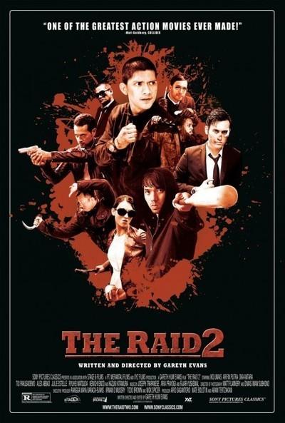 The Raid 2 Movie Poster