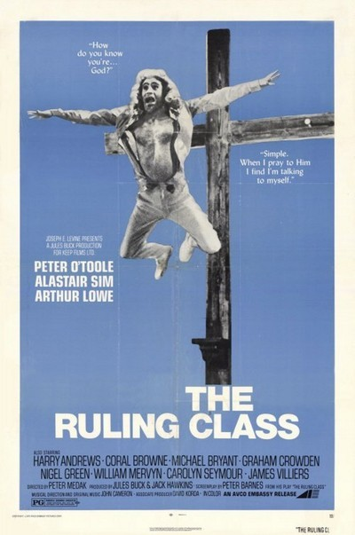 The Ruling Class Movie Poster