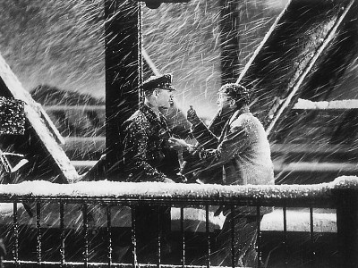 Bridge scene from It's a Wonderful Life