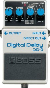 Digital Delay DD-3 boss