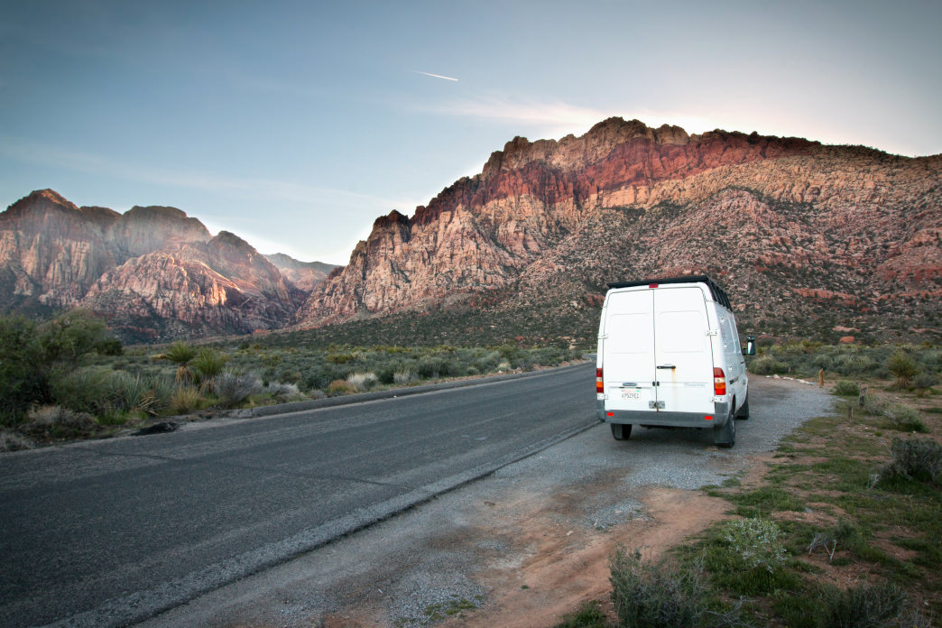 Living the van life allows you to see things you might not normally. Jenna Herzog