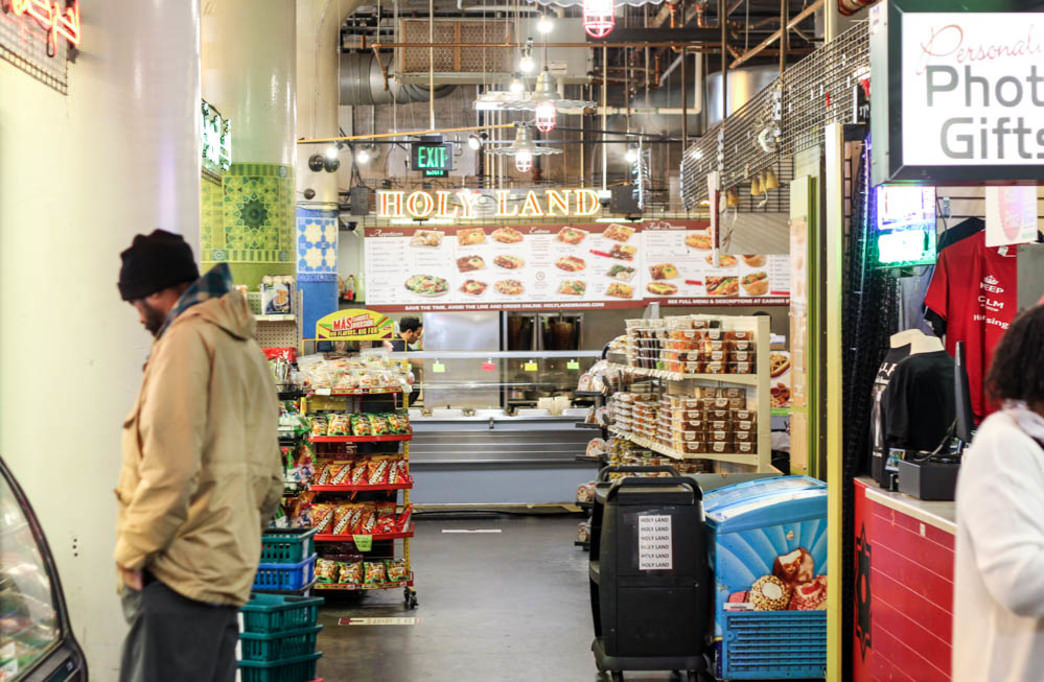 You're not short of options in the Midtown Global Market