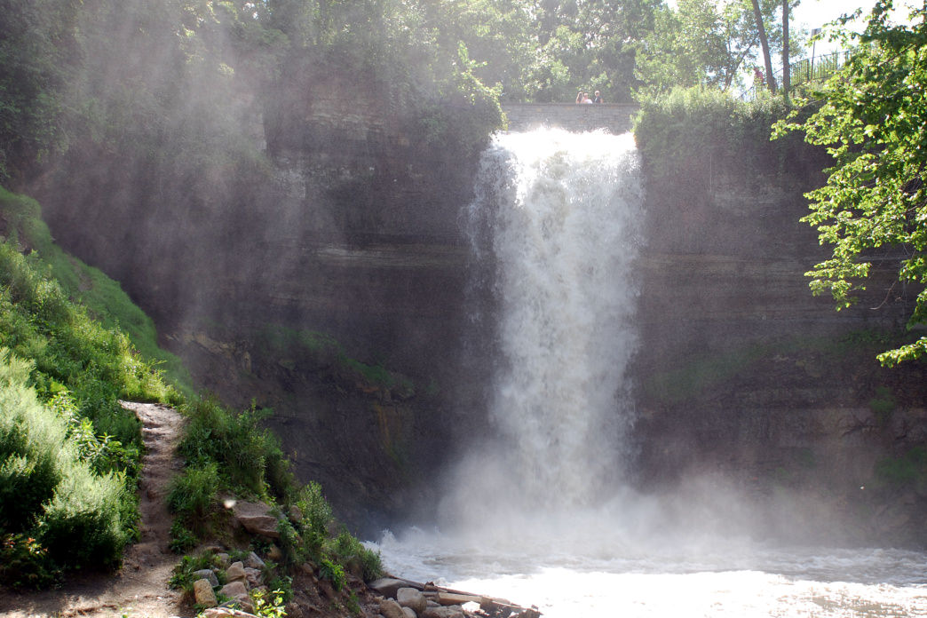 Minnehaha Park is one of the oldest and most popular parks in the area.