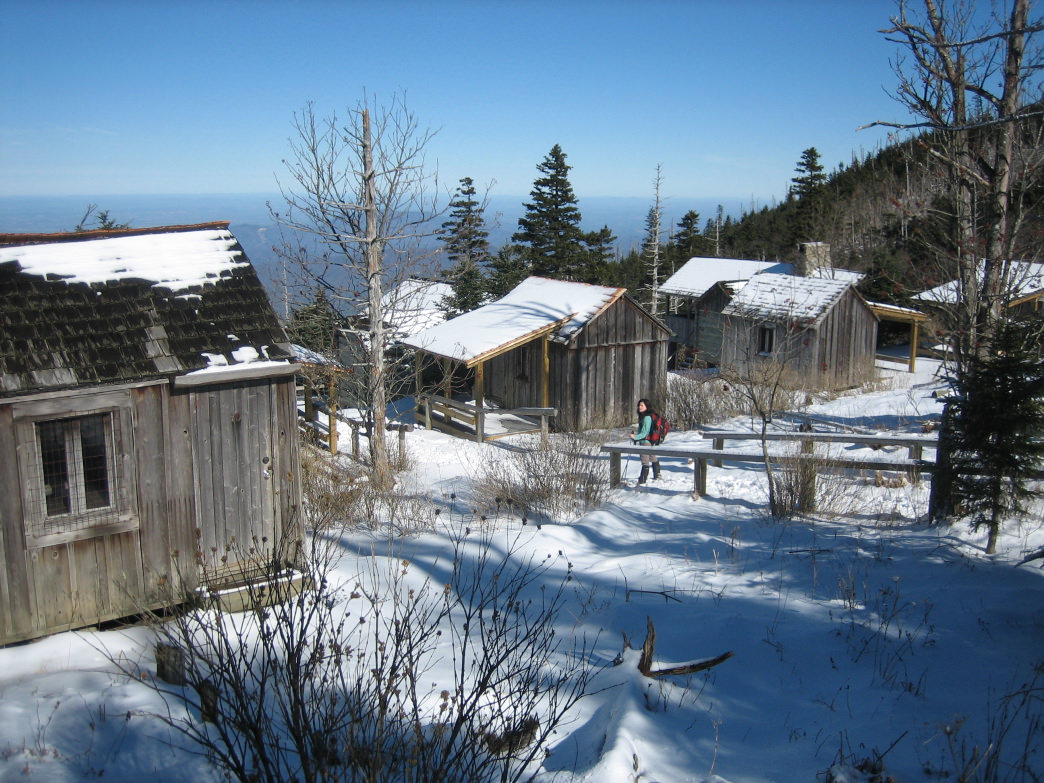 The LeConte Lodge is the only lodge in the park, and can have up to 60 guests at a time.