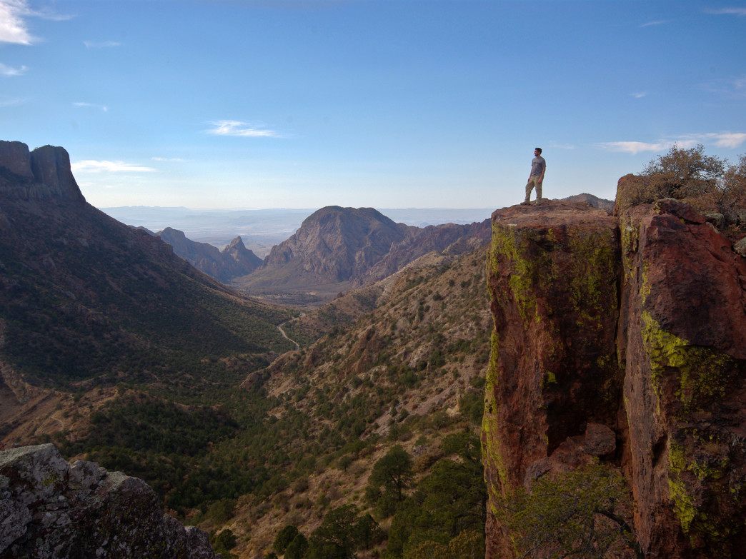 Lost Mine Trail, Big Bend National Park, Texas.