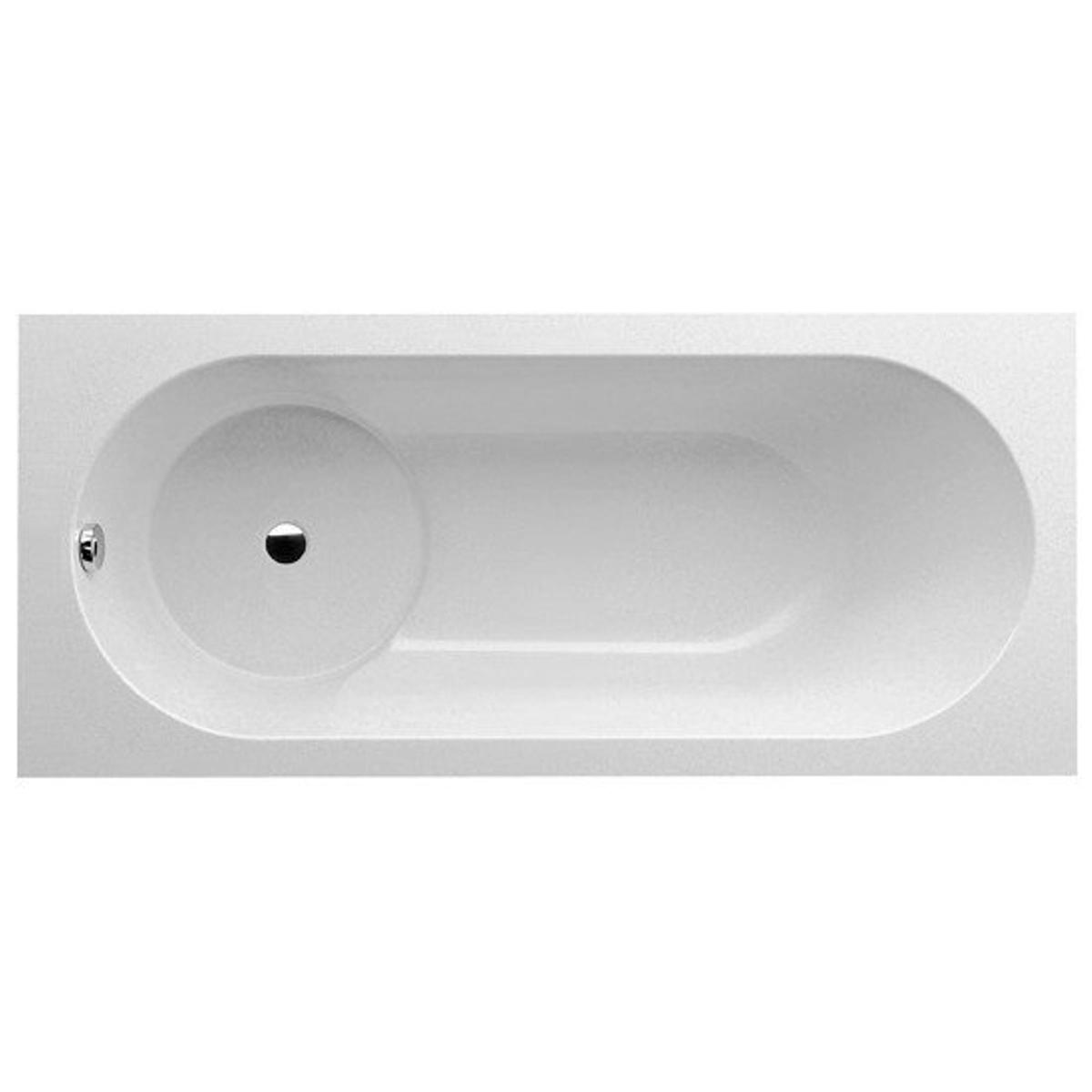 villeroy et boch libra baignoire rectangulaire 160x70cm avec set de pieds star white ga55468
