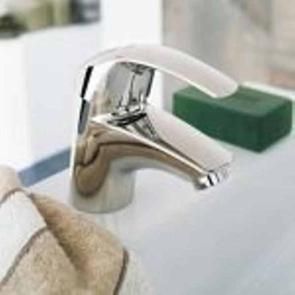 grohe eurosmart robinet de bain avec inverseur avec connexions entraxe 15cm chrome