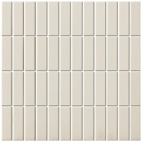 the mosaic factory london carrelage mosaique rectangulaire 7 3x2 3x0 6cm pour le sol pour l interieur et l exterieur ceramique blanc