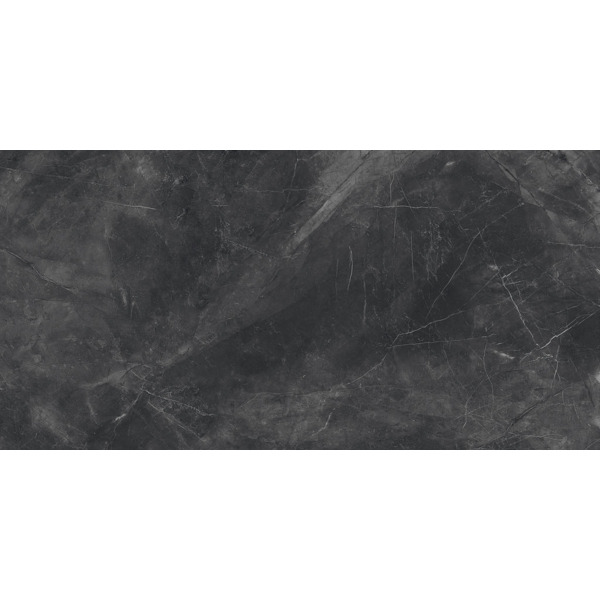 cifre ceramica carrelage mural en sol aspect marbre lotus black pulido 60x120cm rectifie noir poli