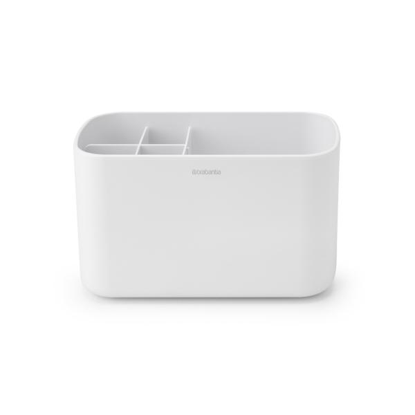 brabantia renew serviteur salle de bains caddy white blanc