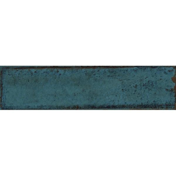 cifre alchimia carrelage mural bleu 7 5x30cm bleu
