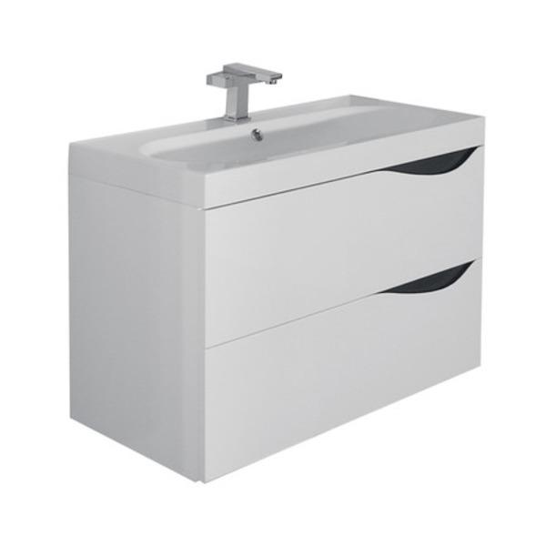 Nemo Go Sienna Integrale Lavabo Pour Meuble Avec Vasque Ovale 80x40x5 5cm Marbre Artificiel Blanc 929294 Sawiday Fr