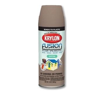 krylon fusion for plastic 23258 burgundy gloss paint 16 oz aerosol can 12 oz net weight 02325