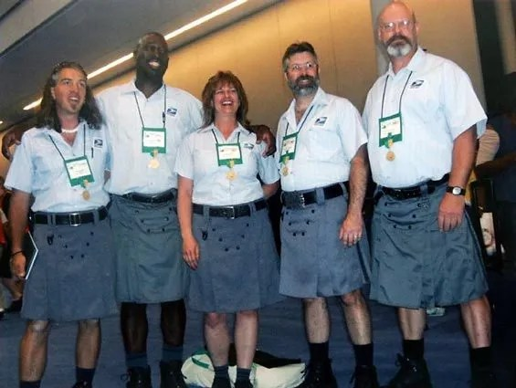 Lacey Mail Carrier Lobbies For Kilt Equality