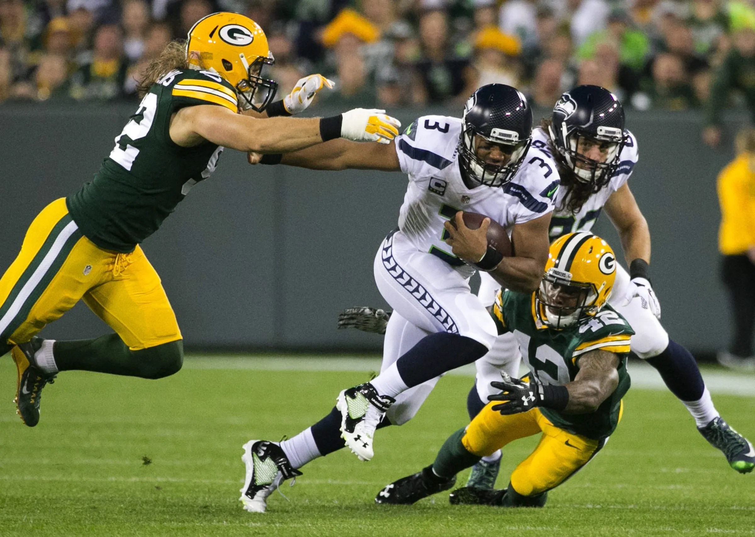 Image result for seattle seahawks at green bay packers
