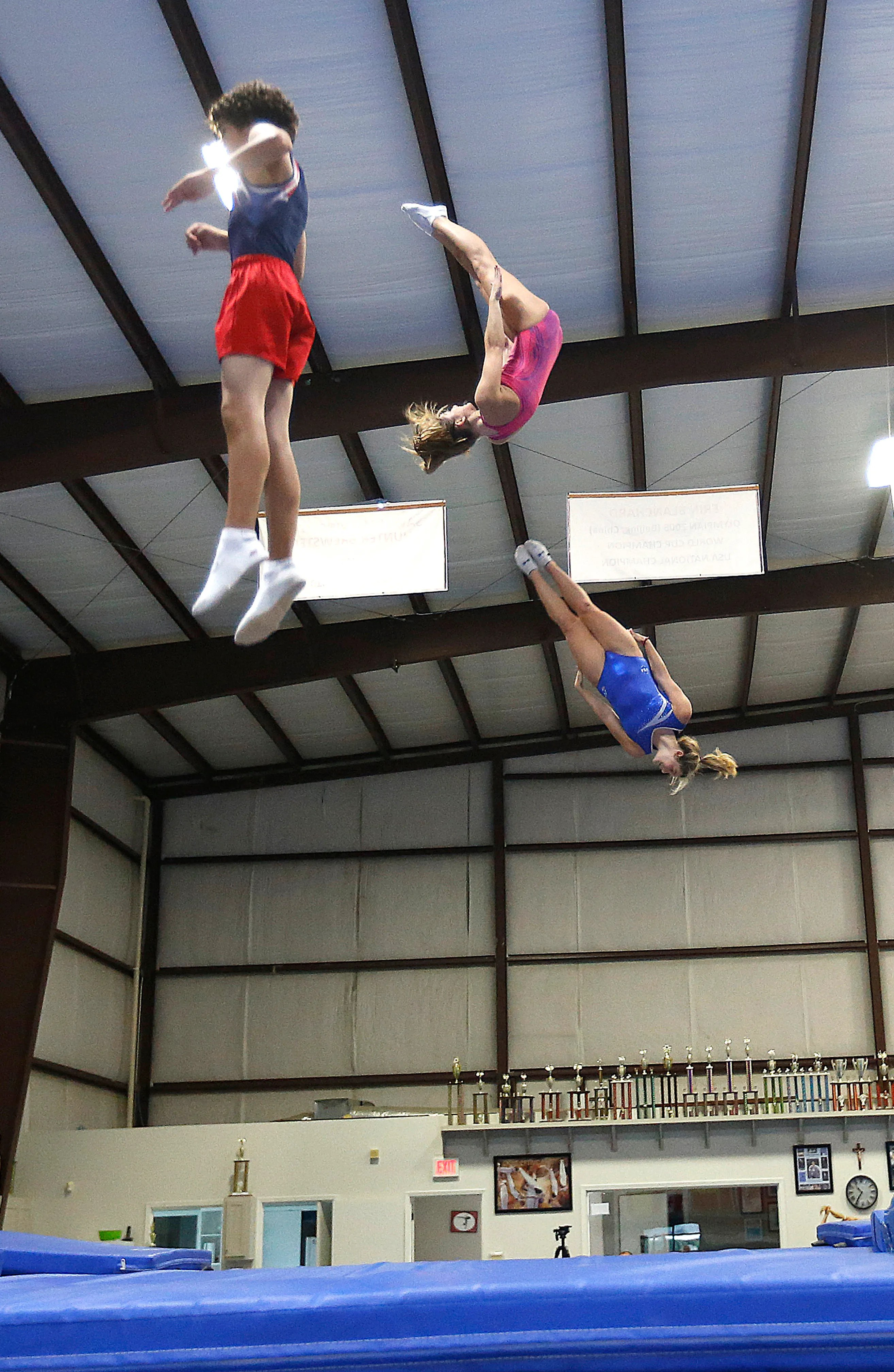 Trampoline Gymnasts Power Up For Us Olympic Trials The