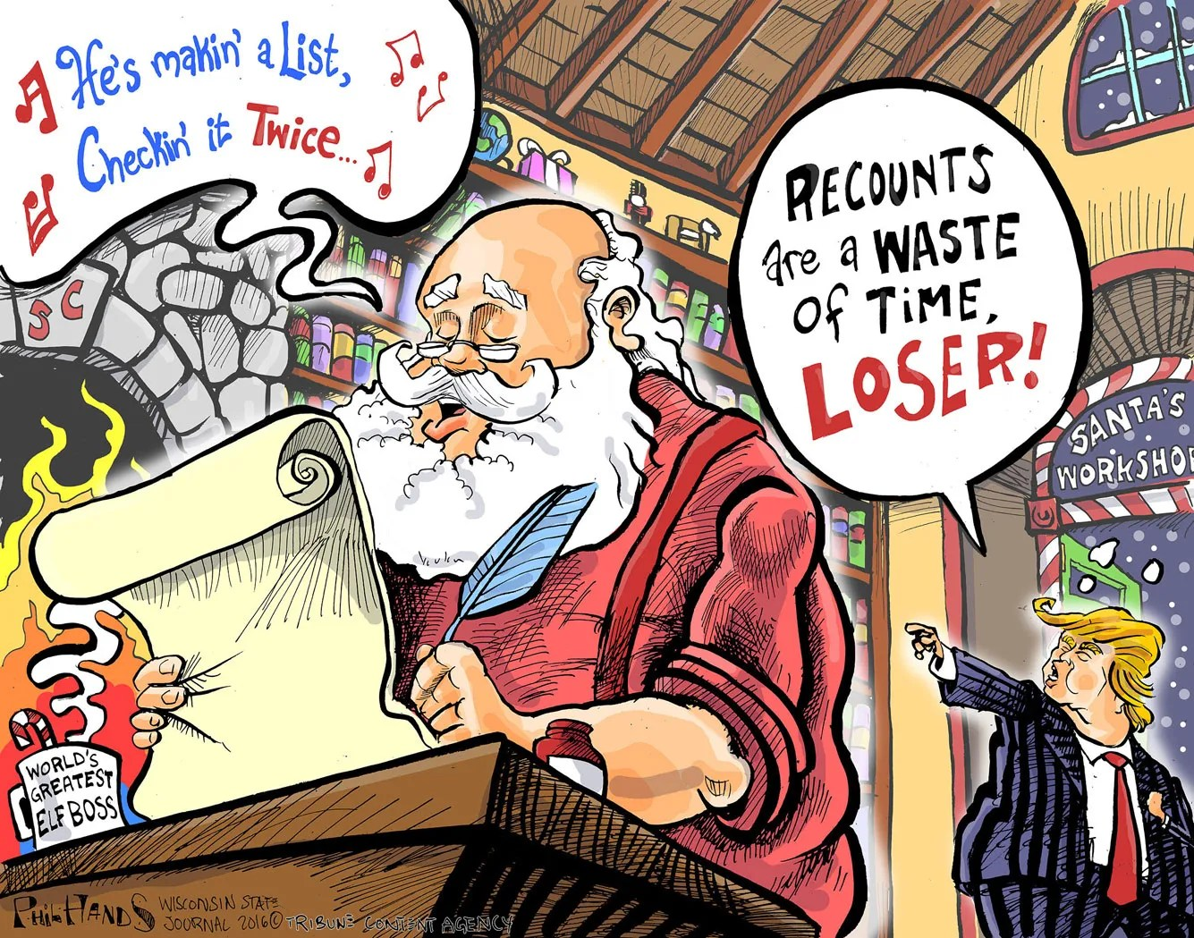 This Week In Cartoons RIP Fidel Recounts Pipeline And