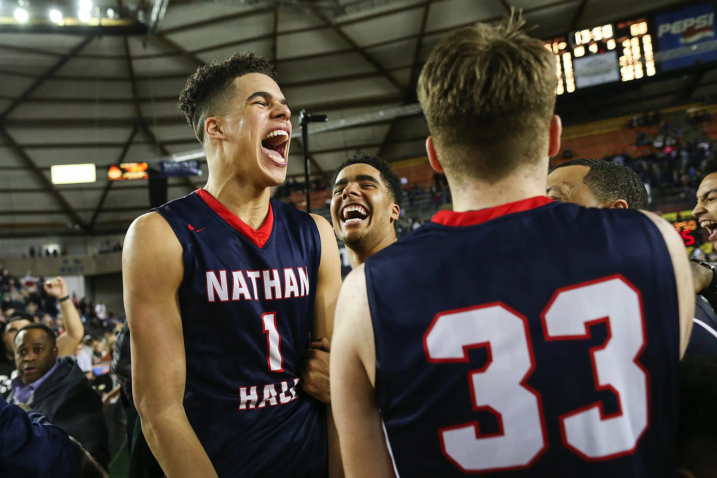 Nathan Hale Finishes Off Perfect Season With A Flourish