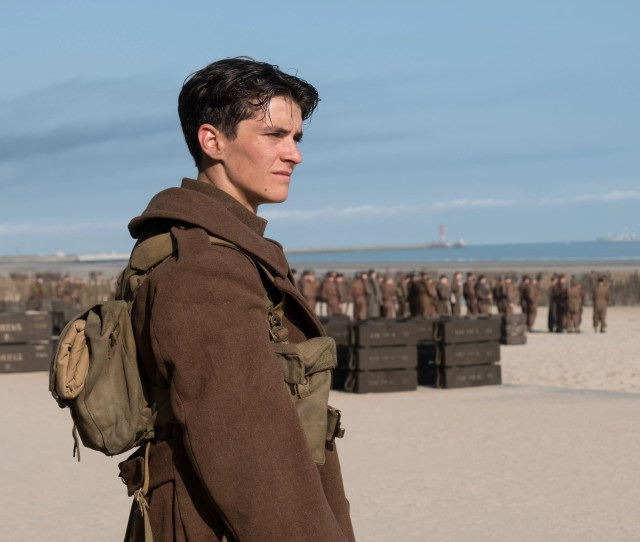 Fionn Whitehead Plays Tommy A British Soldier In Christopher Nolans Dunkirk