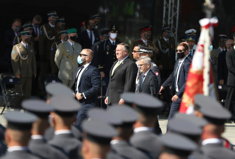 Pompeo inks deal to support more US troops in Poland   The ...