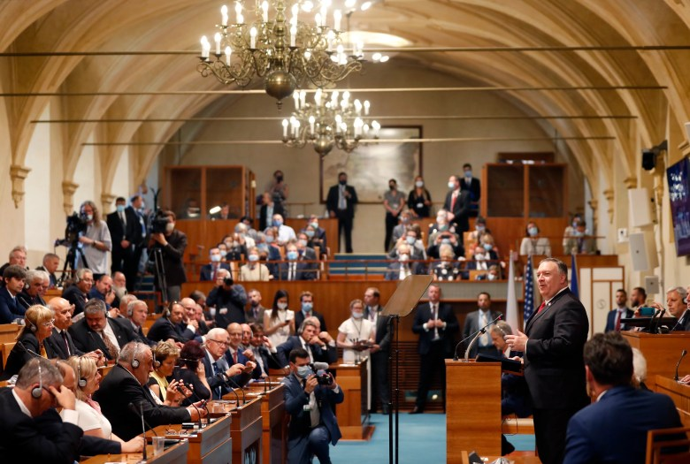 Pompeo urges Europe's young democracies to embrace ...