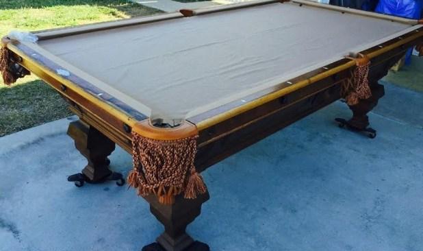 How To Refelt A Slate Pool Table Brokeasshome Com