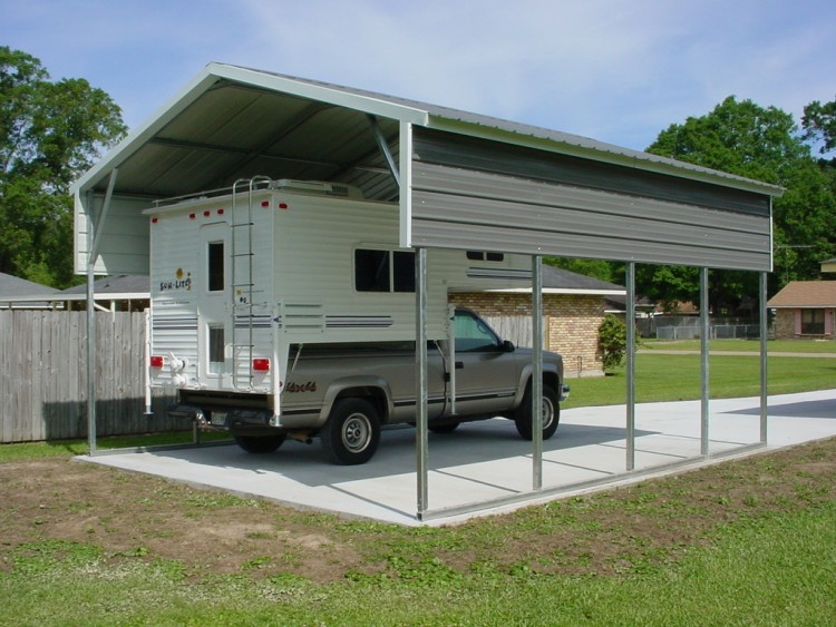 Metal RV Carports Texas TX Motor Home Covers Texas TX