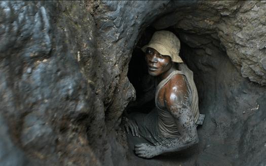 Photo of Cobalt Miner via Bing.
