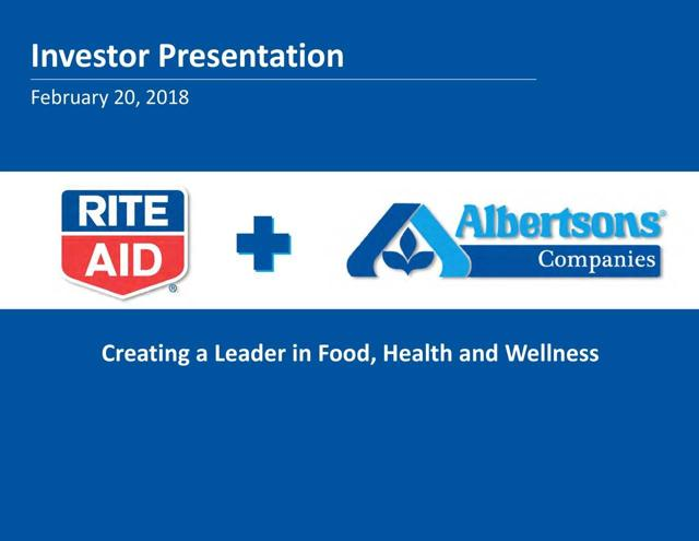 Vote Against The Rite Aid/Albertsons Merger