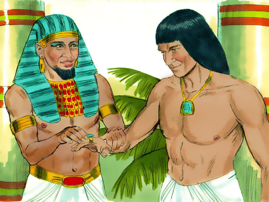 Joseph To Pharaoh Save Surplus Grain For Inevitable