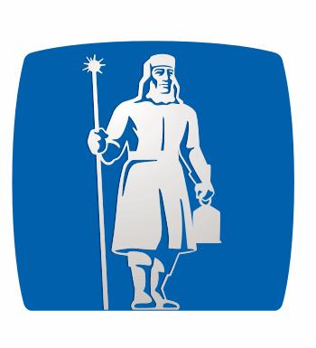 The watchman, the logo of Gjensidige