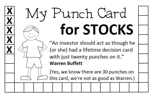 Punch Card Stocks
