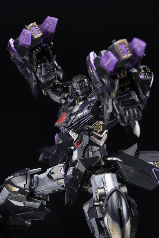 Transformers News: Flame Toys Kuro Kara Kuri IDW Stealth Bomber Megatron New Images and Pre-Orders Coming Soon