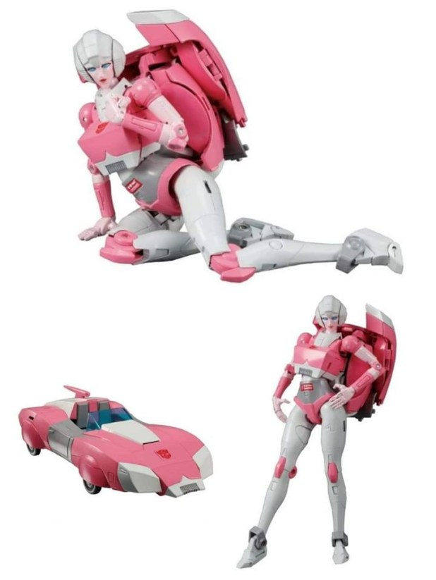 Transformers News: New Pictures of MP 51 Arcee