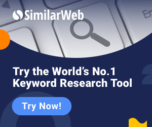 SimilarWeb Keyword Research Tool