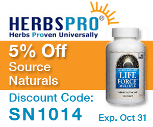 HerbsPro - Save 5% on Source Naturals